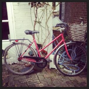 before i yarnbomed the bike