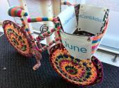 knitted bike at asda