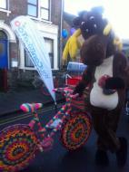 Reindeer and Bike