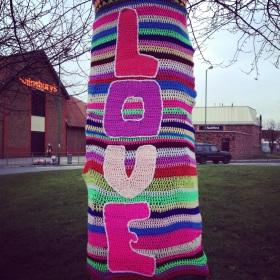 Crochet Love Tree
