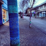 Blue Knitted Tree