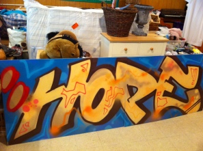 Hope Graffiti