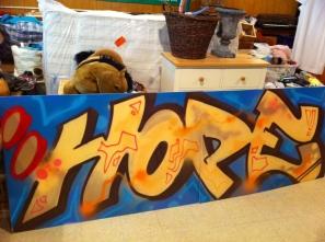 Hope Graffiti